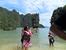 Вот и остров где снимали когда -то очередную серию Джеймса Бонда. У меня на ладони островок Игла.