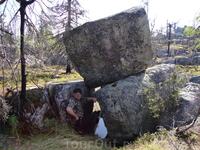 Какие каменные глыбы!