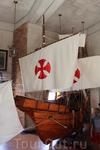 Макет корабля Колумба