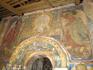 Крестовоздвиженский собор расписывала команда ярославских мастеров под руководством Гурия Никитина. Росписи над входом в храм