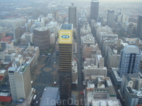 Йоханнесбург , вид на город с торгового центра