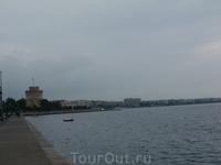 Салоники набережная и Белая башня 1