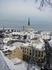 Вид на зимний Таллин.