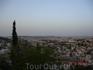 Раннее утро. Вид на Иерусалим со смотровой площадки.