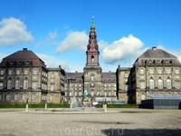 Копенгаген. Дворец Кристиансборг.