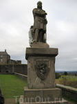 Памятник шотландскому королю Роберту Брюсу.