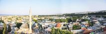 Панорама на старый город Родос