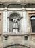 Святой Иаков (?) на фасаде церкви и ракушка - символ El Camino del Santiago. Вообще писала отчет и как-то подумала о том почему ракушка стала симоволом ...