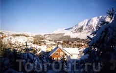 Норвегия,Ульстейнвик,остров Димна