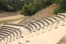 греческий амфитеатр