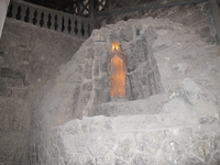 В соляном храме.