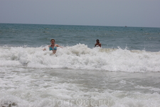 и несет меня волна