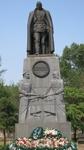 Памятник А.В.Колчаку, установлен в Иркутске в 2004 году на месте расстрела адмирала.