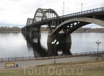 Основная переправа Рыбинска