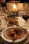 Великолепные блюда средиземноморской кухни, прекрасное греческое вино... незабываемый вечер в Замке великого магистра.