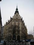 Дома и улочки Праги
