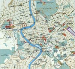 Карта Рима на русском