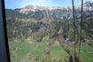 Долина Лаутербруннен. Знаменитые альпийские шале.