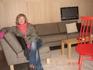 удобный диванчик, вставать с него не хочется)