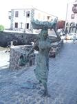 Пуэрто де ля Крус. Прогулка по побережью. памятник рыбачке
