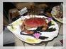 """краб с флагом Бретани, ресторан """"Океан"""", Фреель"""