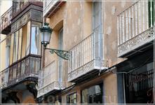 балкончики...