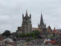 Кафедральный собор Лозанны построен в XIII веке.
