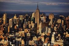 Центр города с Юга 14-ой улицы, Нью-Йорк
