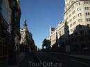 Улица Алкала, на которой находился наш отель Regina