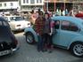Выставка старых авто на новой площади Сволвара