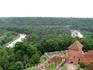 Вид из Турайдского замка