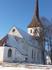 Ракверская церковь Святой Троицы, со своеобразной стройной башней, была построена в позднее средневековье и перестроена в 17 веке.