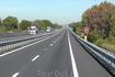 Автострада Италии. Всегда есть место для экстренной остановки и подачи сигнала SOS, если нужна помощь.