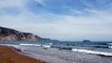 На пляже штормит