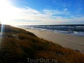 Балтийское море на Куршской косе