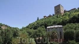 Granada - Carrera del Darro вид на Алькасабу