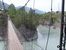 Подвесной мост через Катунь на остров Патмос