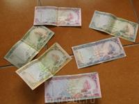 на память наменяли местной валюты