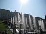 Большой каскад - главное сооружение грандиозной фонтанной системы Петергофа.