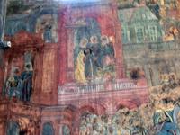 Все остальные сюжеты принадлежат живописцам артели Сапожникова и выполнены в 1772 г. Из них, конечно, привлечет внимание большая храмовая роспись «Убиение ...