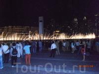 поющие фонтаны Дубая 6
