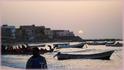 закат в районе Нгор