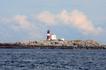 Норвежский маяк в Атлантике.