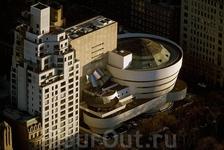 Музей современного искусства Соломона Гуггенхайма, Карнеги-Хилл, Манхэттен, Нью-Йорк