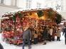 Киоск рождественского базара в Мюнхене
