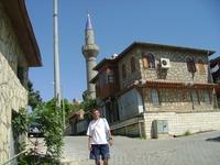 2 сентября. Сиде. Все мечети в Анатолии однотипны и построены в 20 веке! Где старые мечети? Когда ислам пришёл на эту землю?)))