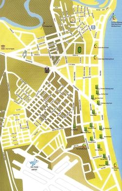 Карта отелей Нья Чанга