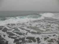 Вот такое было неспокойное Средиземное море в Александрии