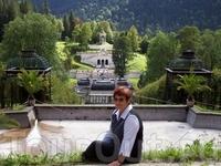 Летняя резиденция короля. замок Линдерхоф