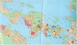 Карта Савонлинны